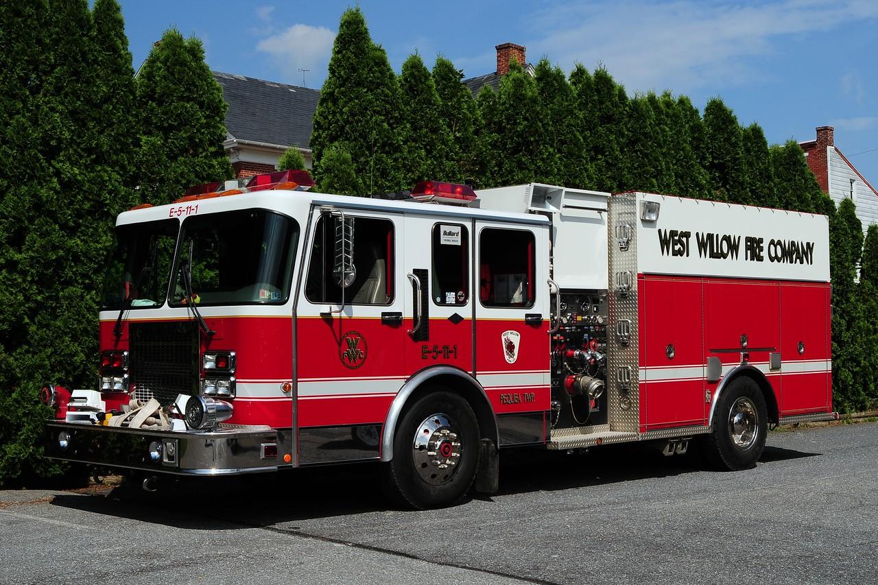 West Willow Engine 5-11-1   1995 Spartan /Darley 1500/ 1000