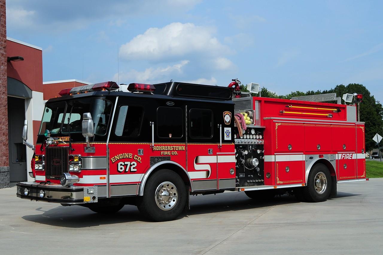 Rohrerstown Engine 672    1995 Emergency One 1500/ 1000