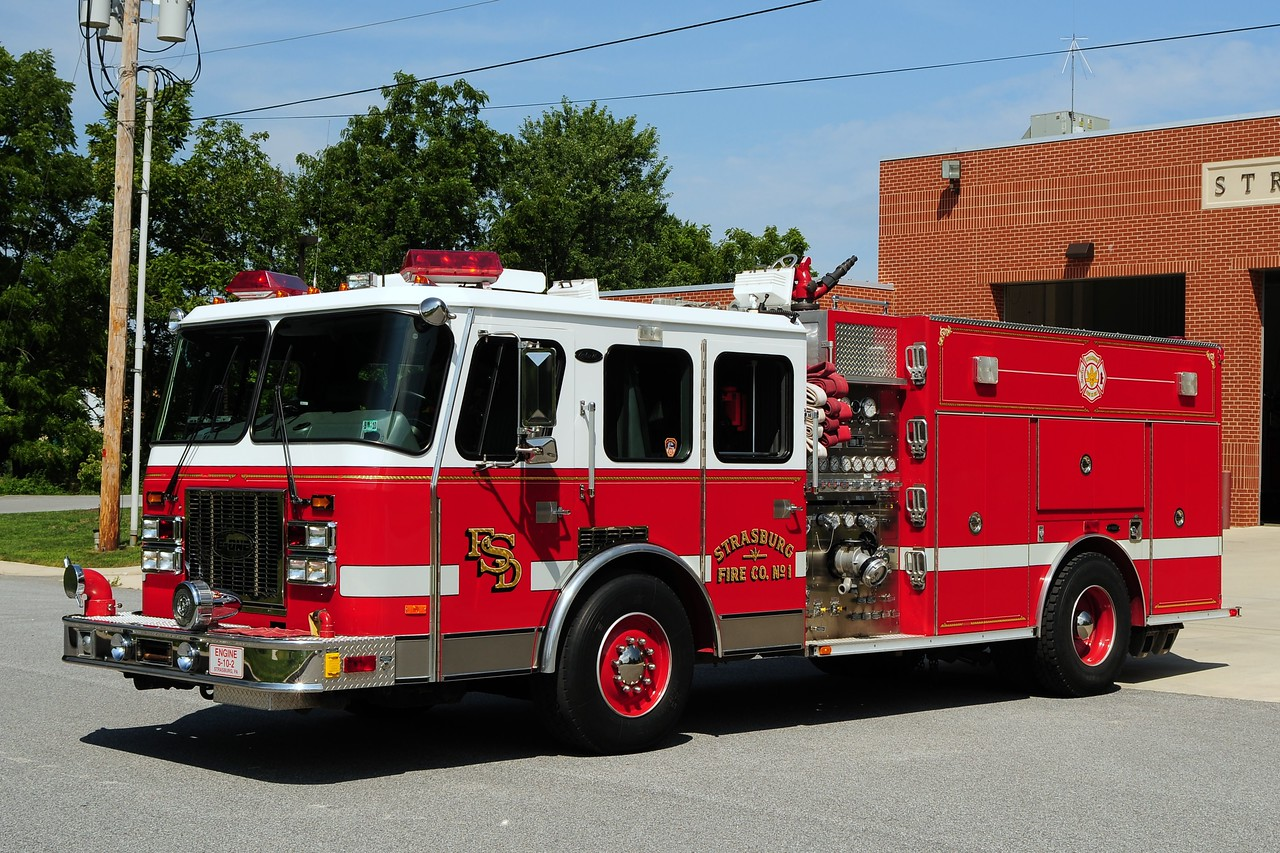 Strasburg Engine 5-10-2   1994 Emergency One 1500 /500