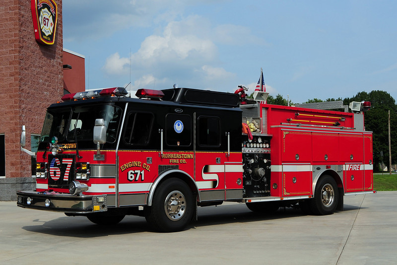 Rohrerstown Engine 671   1995 Emergency One 1500/ 1000