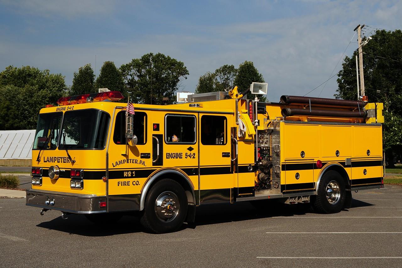 Lampeter Engine 5-4-2    1991 Spartan/ Darley 1500/ 1000