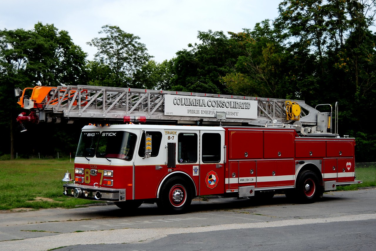 Columbia Ladder 87   1988 Emergency One 110ft