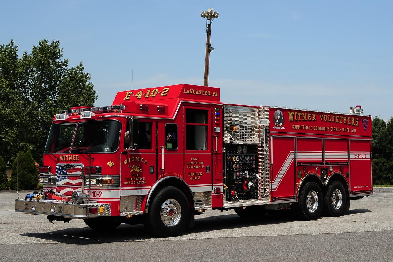 Witmer Engine 4-10-2   2009 Pierce Arrow XT 2000/ 2500