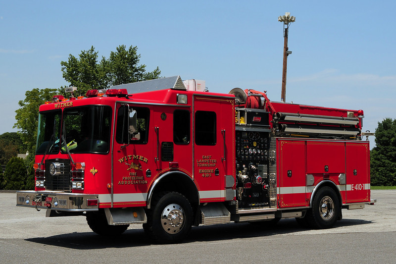 Witmer Engine 4-10-1  1999 HME/ New Lexington 4X4  2000/ 600
