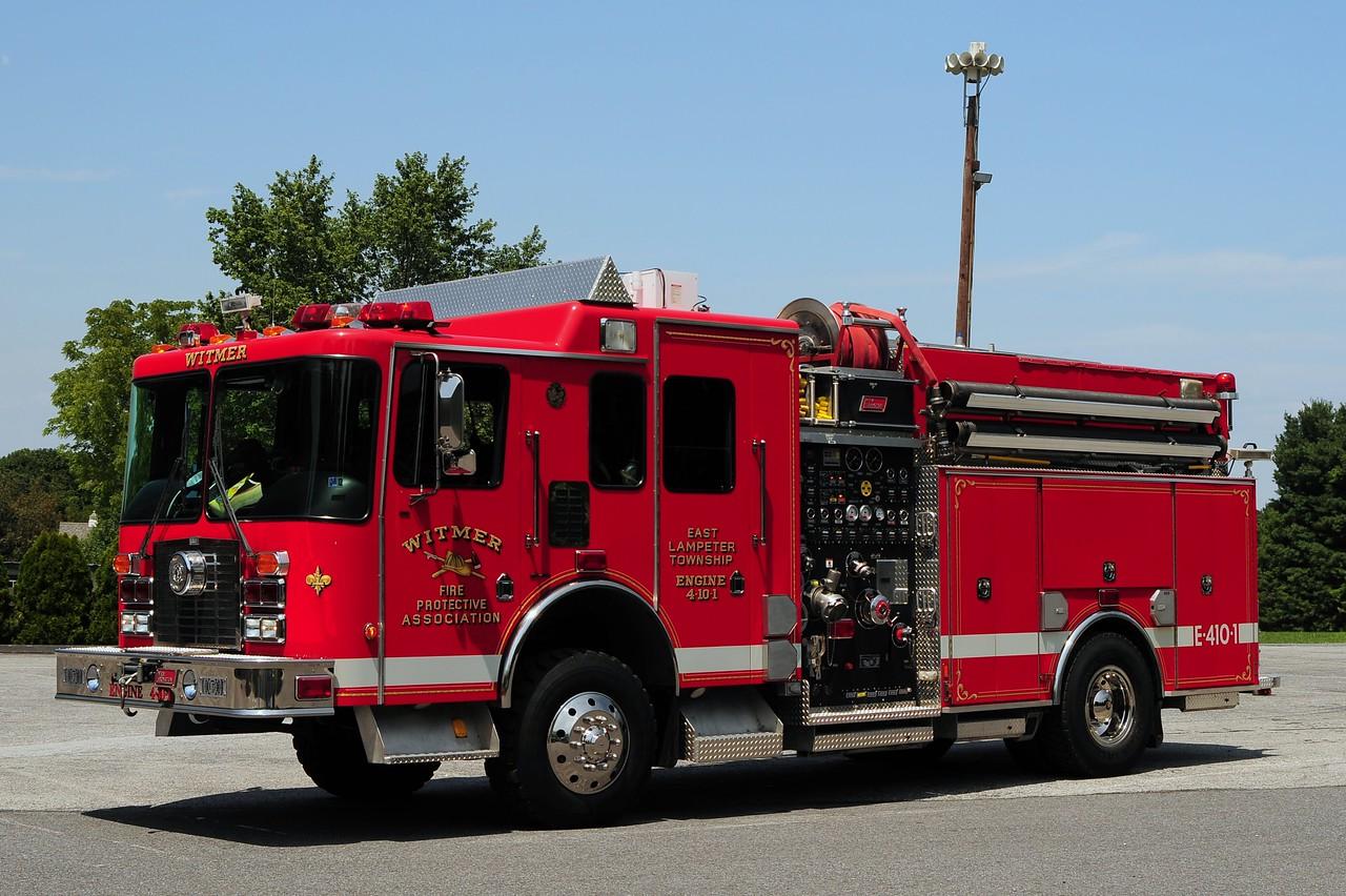 Witmer Engine 4-10-1  1999 HME/ New Lexington 4X4  2000/ 600