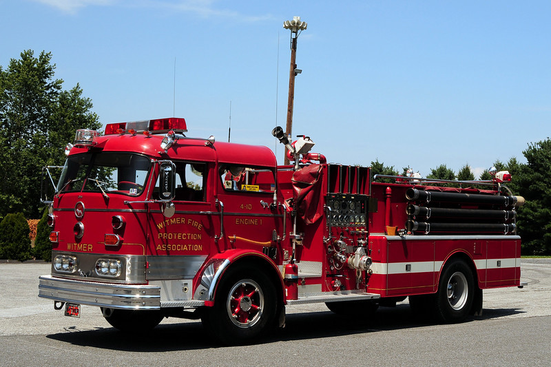 Witmer Engine 4-10 - 1967 Mack C95 1000/ 1000   referb in  1982  by  Pierce