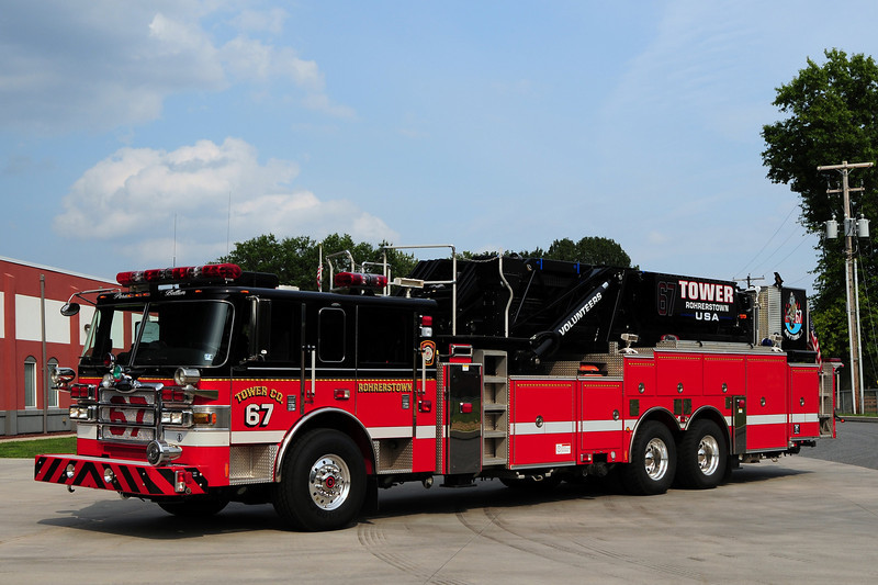 Rohrerstown Tower 67    2007 Pierce Dash 95ft