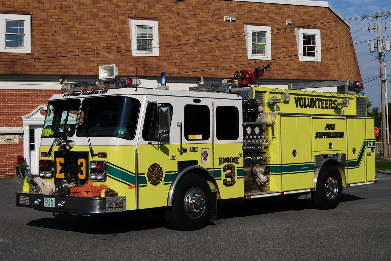 Southern Manheim Engine 3   Emergency One 1500/ 500