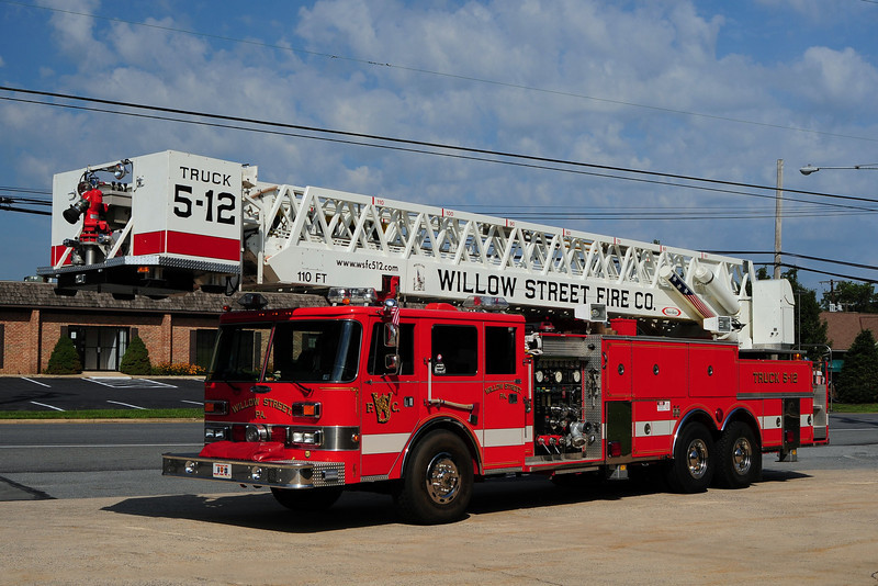 Willow Street Truck 5-12 -1987 Pierce Arrow 1500/ 200/ 110ft