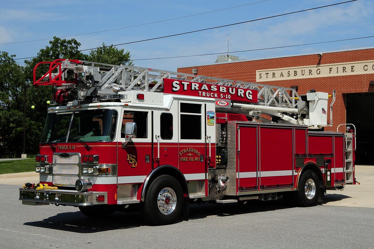 Strasburg Truck 5-10   2008 Pierce Arrow XT PUC 1500/ 500 /75ft