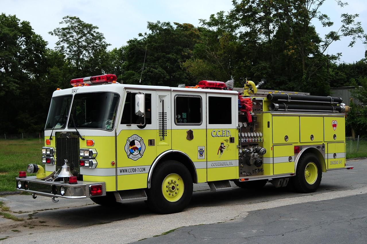 Columbia Engine 871   1989 Simon Duplex/ Emergency One 1500/7 50
