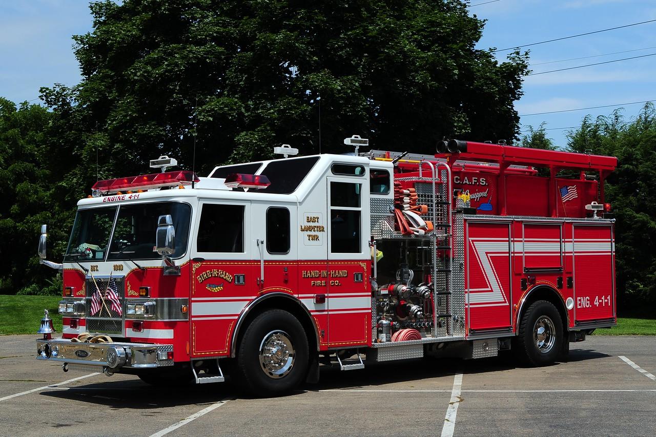 Bird in Hand Engine 4-1-1  2000 Pierce Lance 2250/ 900/ 90 CAFS