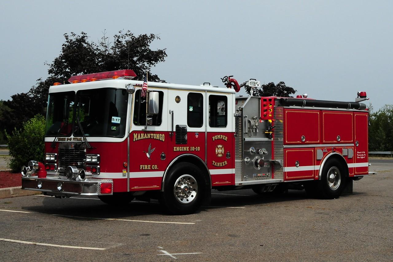 Mahantongo Fire Co  Engine  10-10  1993  HME/ Ferrara 1500/ 1000 Ex-Duck, NC
