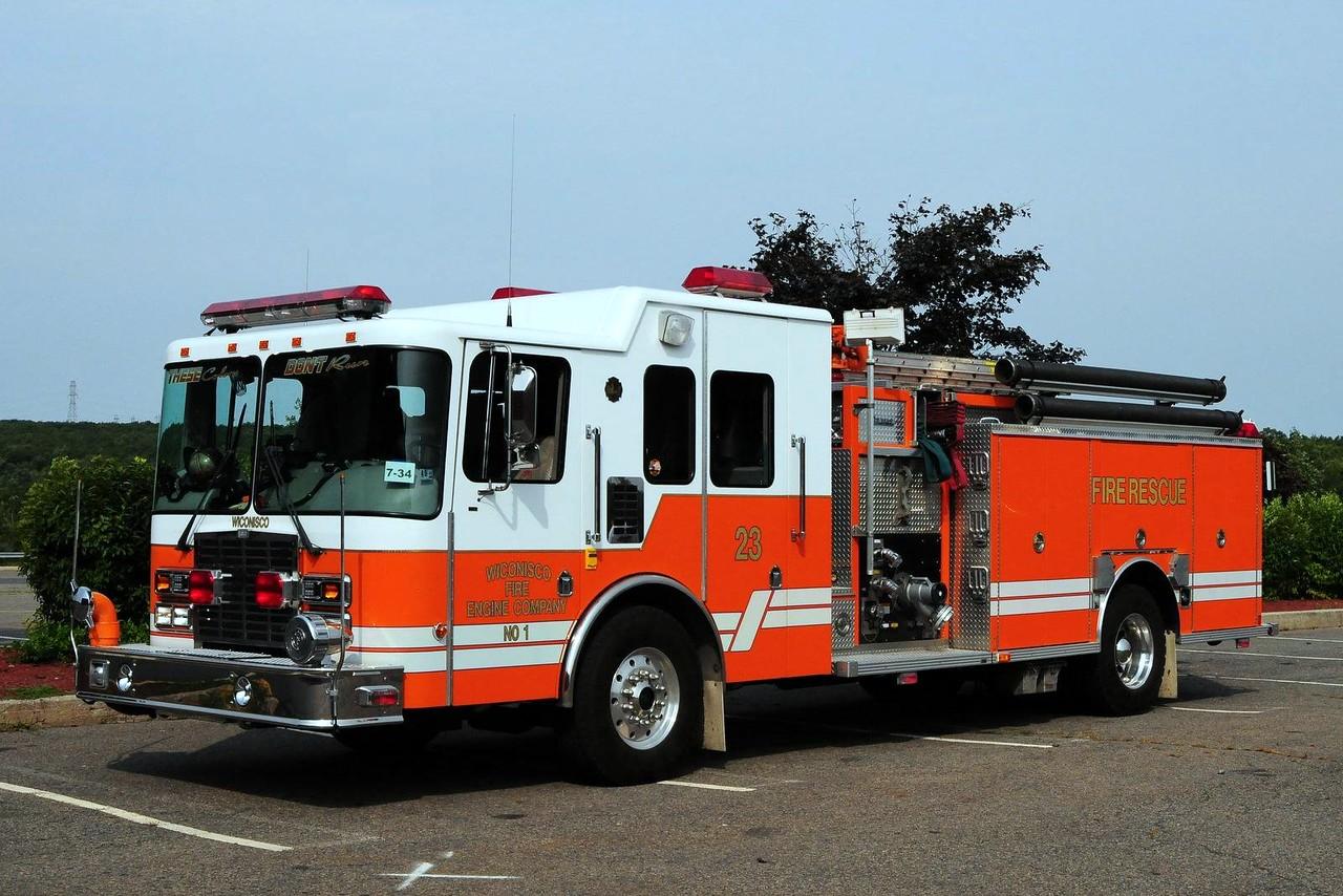 Wiconisco Fire Co    Engine  23  1999 HME/ Central States  2000/ 750
