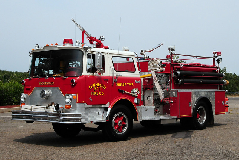 Freindship Fire Co   1972 Mack CF 1000/ 750  now  Privately Owned