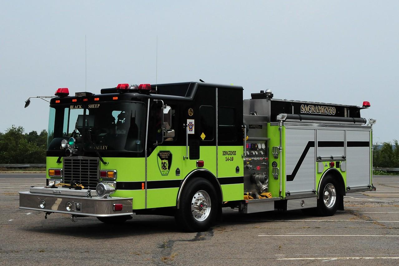 Sacramento Community Fire Co  Engine  14-10  2007  HME/ Aherns  Fox  2000/ 1000/ 30