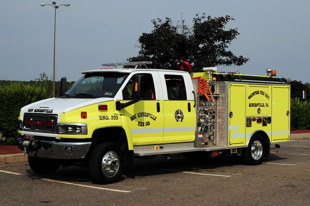 New Minersville Fire Co   Engine 544  2005 GMC/ KME 500/ 250