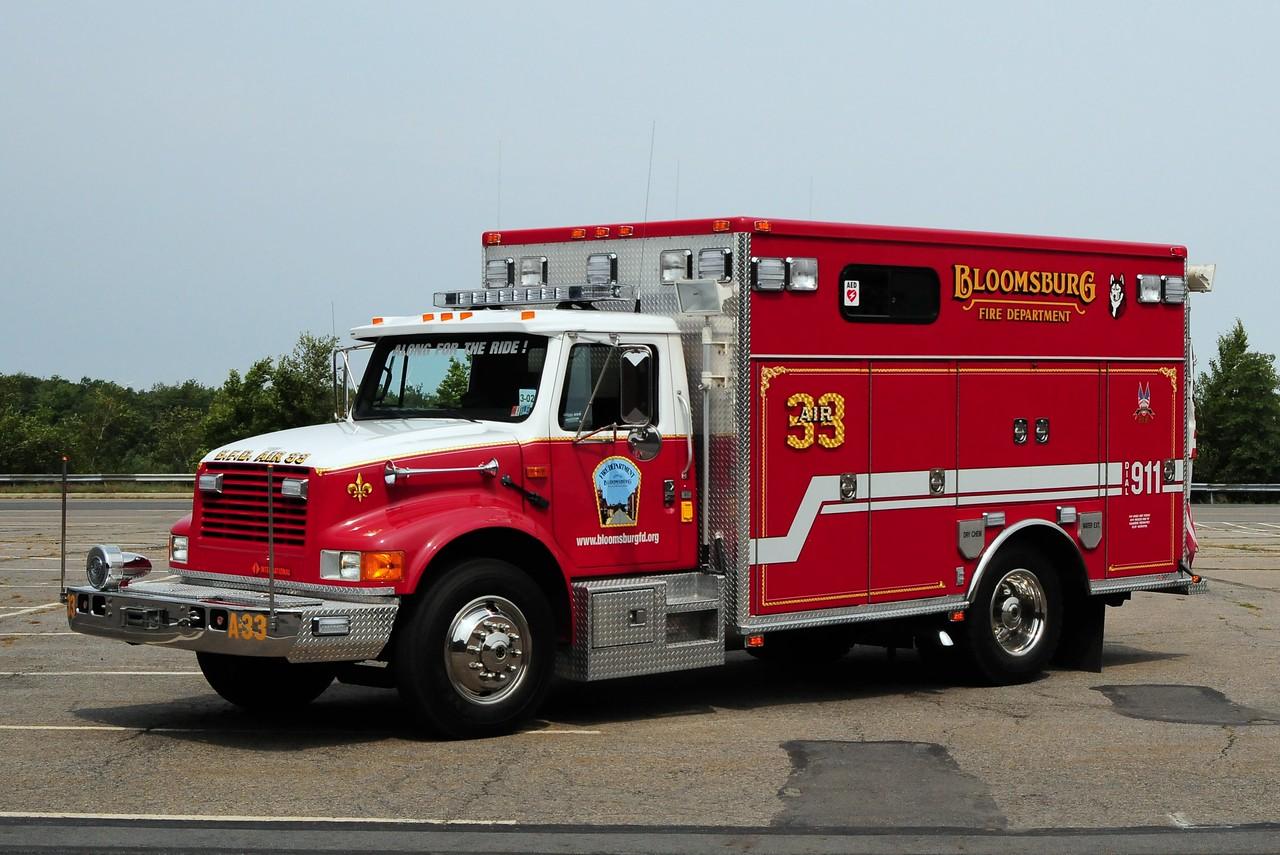 Bloomsburg  Air  33    2010 International / American Fire & Rescue  Ex-Barlow, Pa