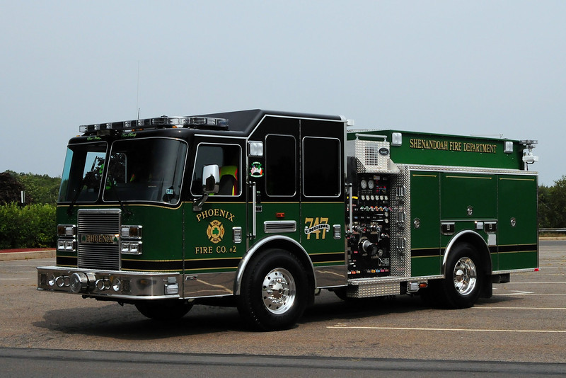 Phoenix Hose Co # 2   Engine  747   2009 KME Predator  1250/ 750/ 20