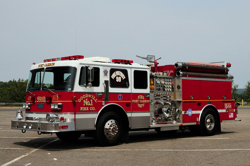 Goodwill Fire  Co  Engine 59-10  1987 Pirsch  1500/ 1000