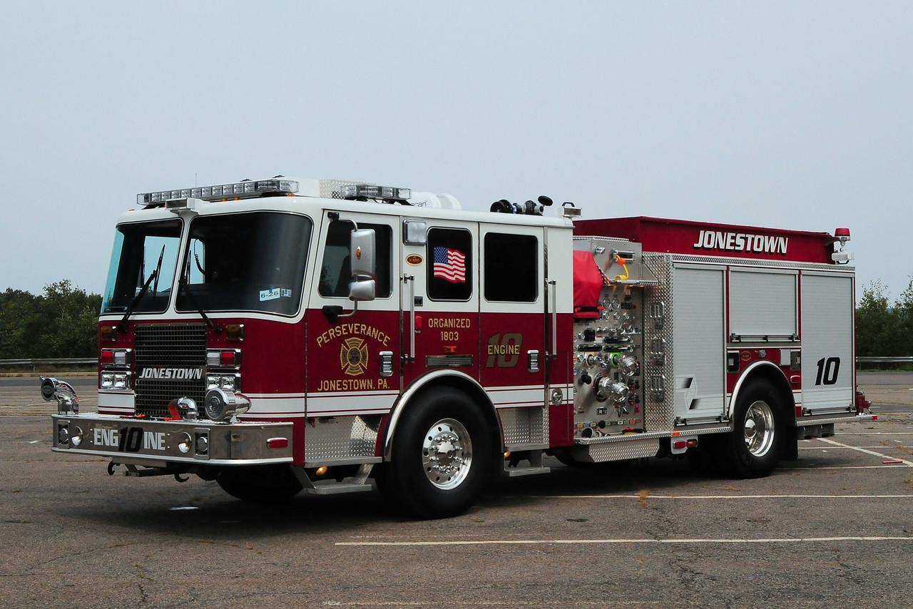Perserverance Fire Co  Engine  10   2010 KME Predator  1500/ 850