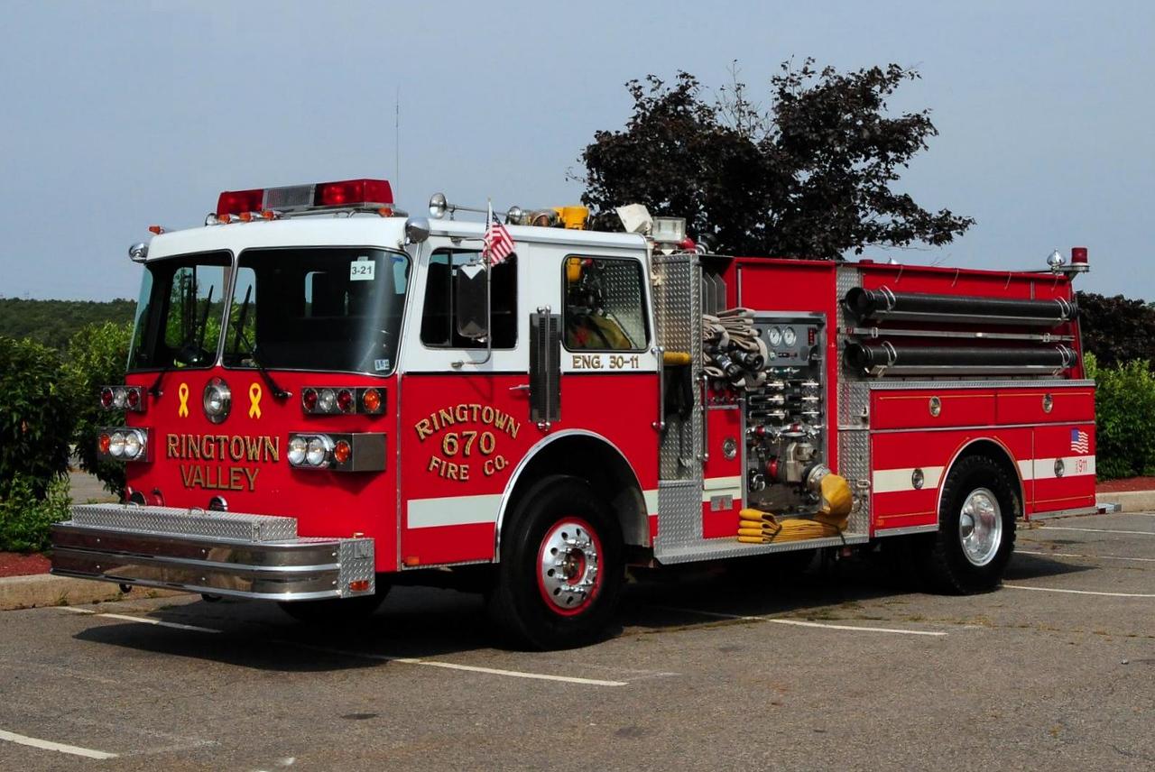 Ringtown Fire Co  Engine 30-11  1987 Sutphen  1500/ 750