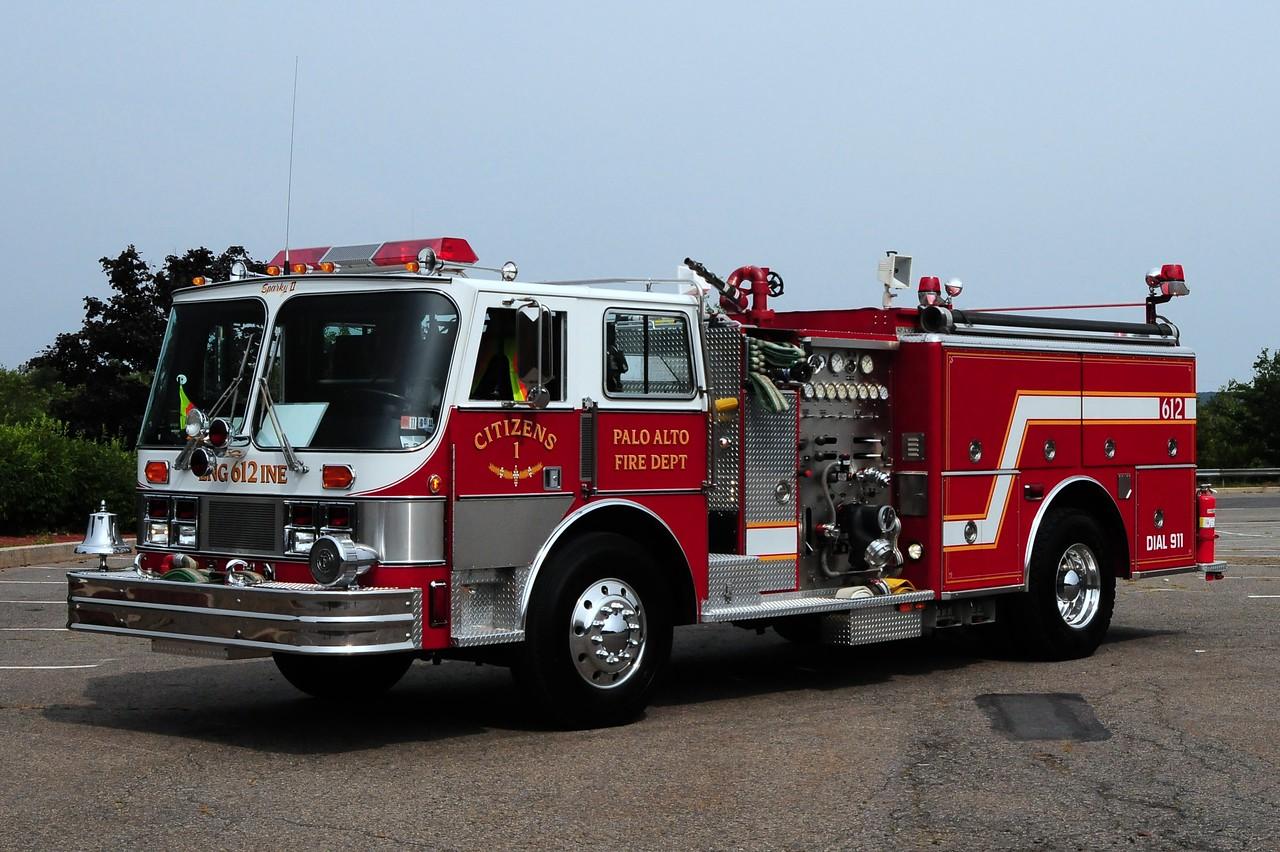 Citizens Fire Co   Engine 612  1987 Hahn  1250/ 500 Ex-Pitman, NJ