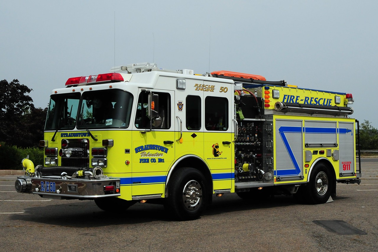 Strausstown Fire Co   Rescue/Engine  50  Spartan /New Lexington  1500/ 1000 /30