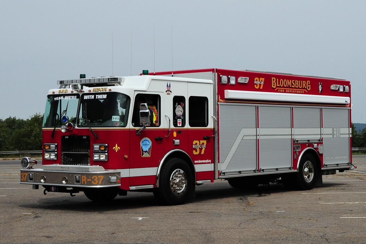 Bloomsburg  Fire Dept  Rescue  37  2006 Spartan/ Rescue 1