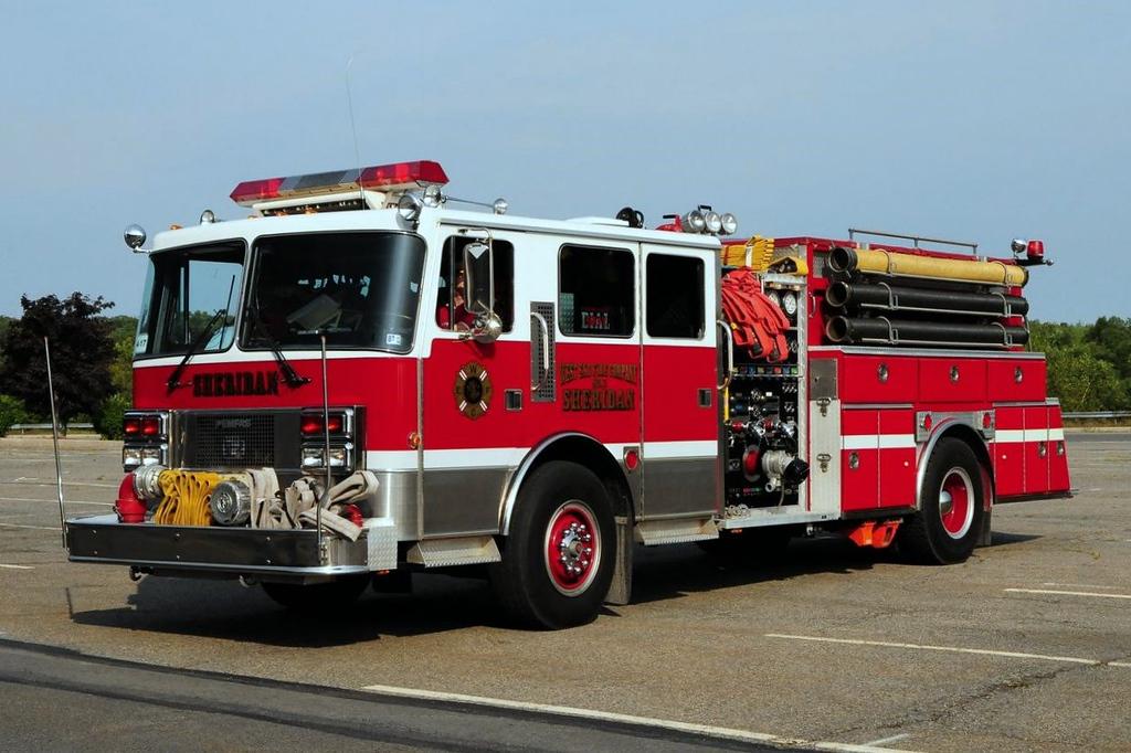 Sheridan Fire Co  Engine  647  1989 PemFab  1500/ 1250  Ex-Coolbaugh Twp, Pa