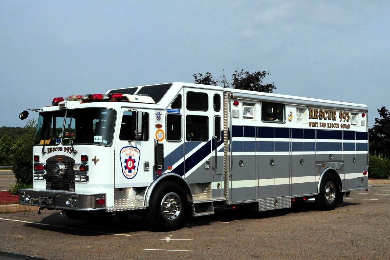 West End  Fire & Rescue  Co  Rescue  993  1999 HME Excel   Heavy  Rescue