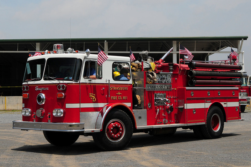 Strasburg Fire Co   Engine  5-10-1  1982  Seagrave  1250/ 1000