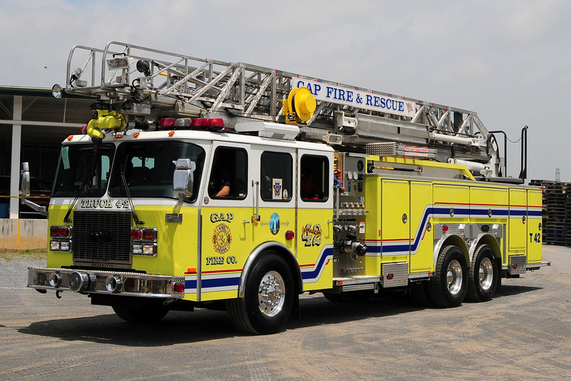 Gap Fire Co  Truck 4-2   2002 E-One  2000/ 500  100ft
