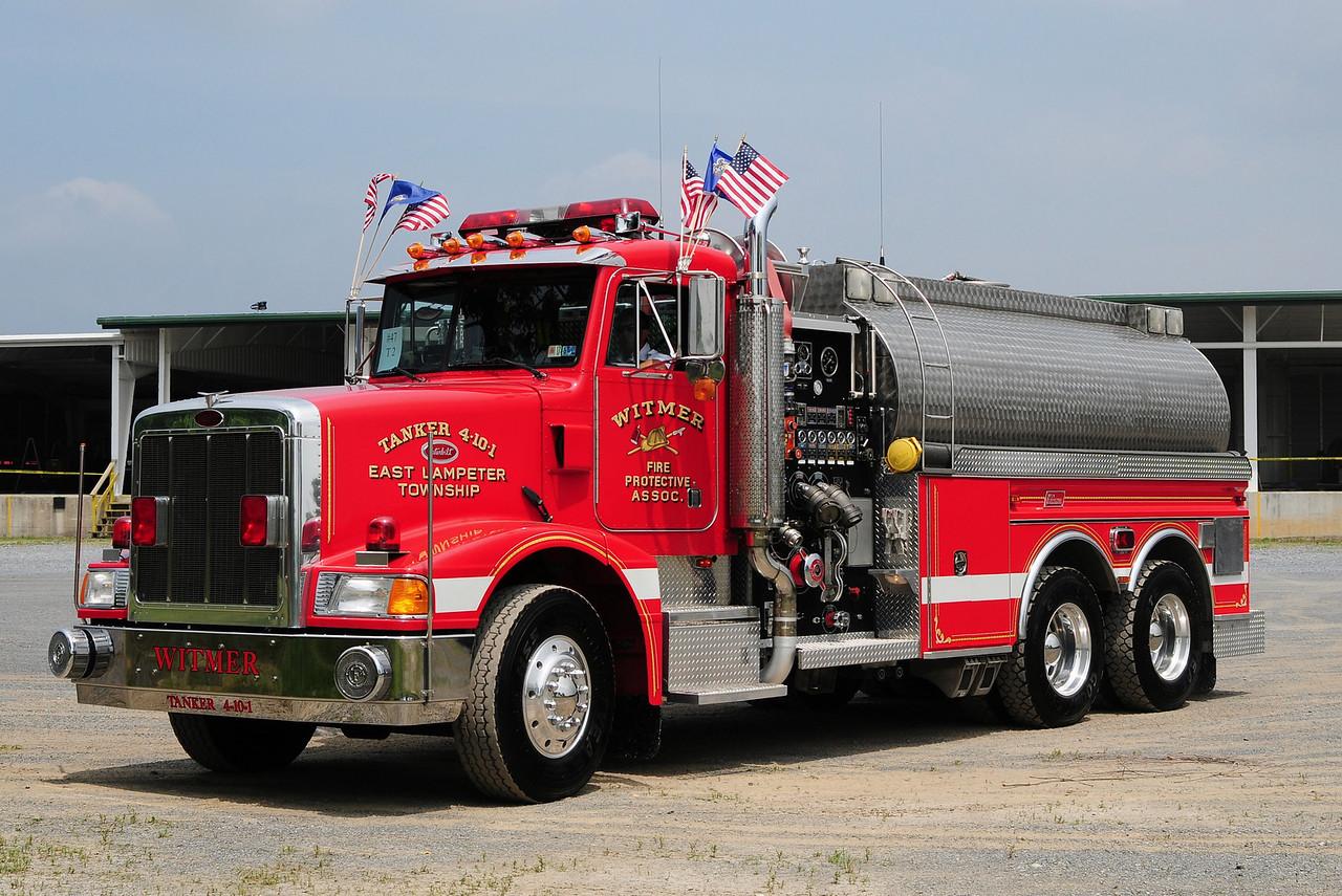 Witmer Fire Co  Tanker  4-10-1  1994 Peterbuilt  / New Lexington  1750/  3000
