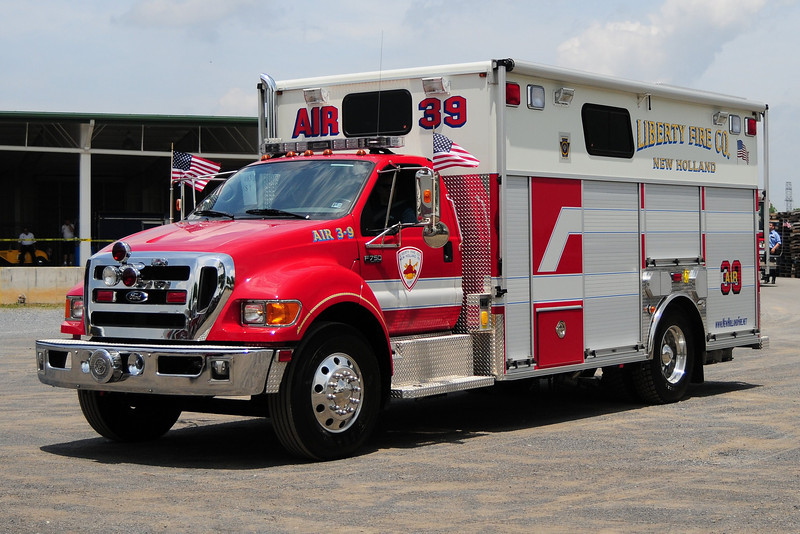 Liberty Fire Co  Air 39  2009  Ford F-750 Pierce  Body