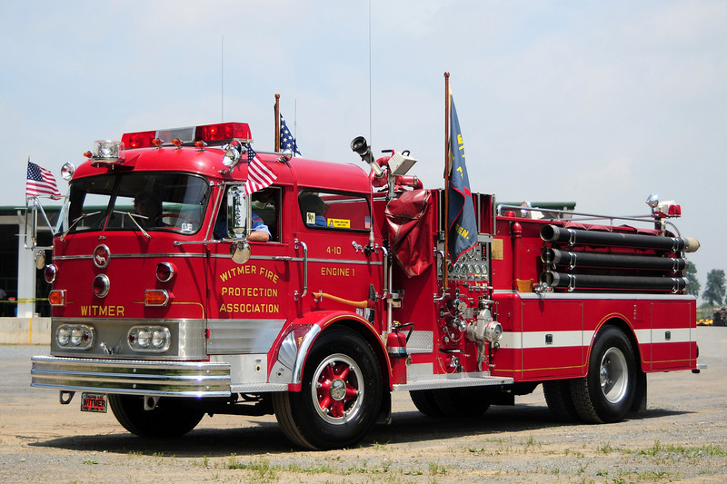 Witmer Fire Co  Engine   4-10-1   1965 Mack C-95  750/ 500