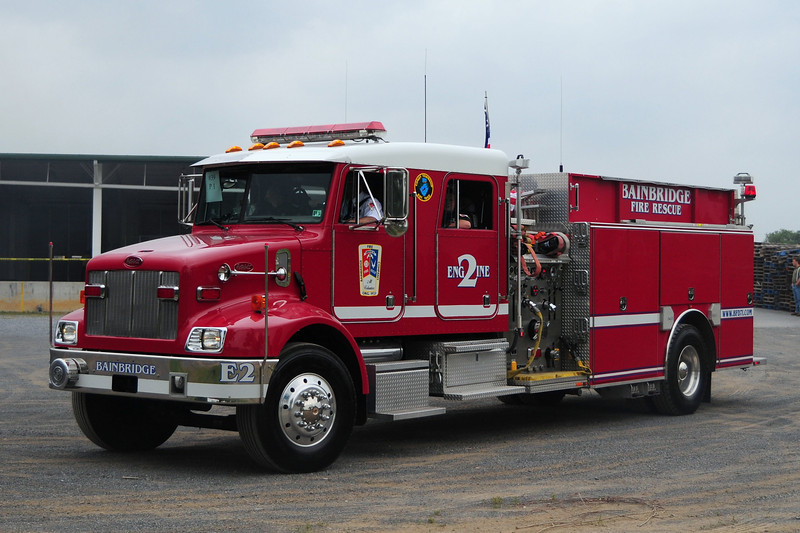 Bainbridge Fire Co  Engine  7-12  2003  Peterbuilt / Semo   1250/ 1000