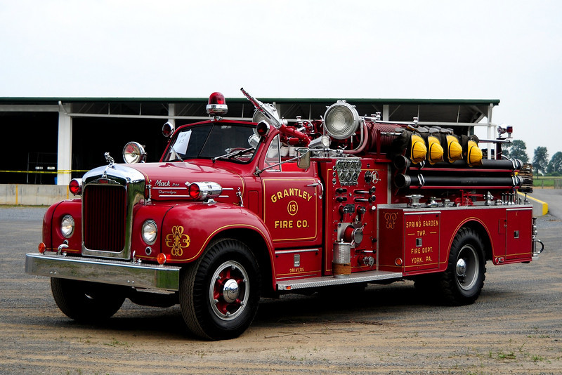 Grantley Fire Co   Engine  13  1958  Mack  B-85  1000/ 500