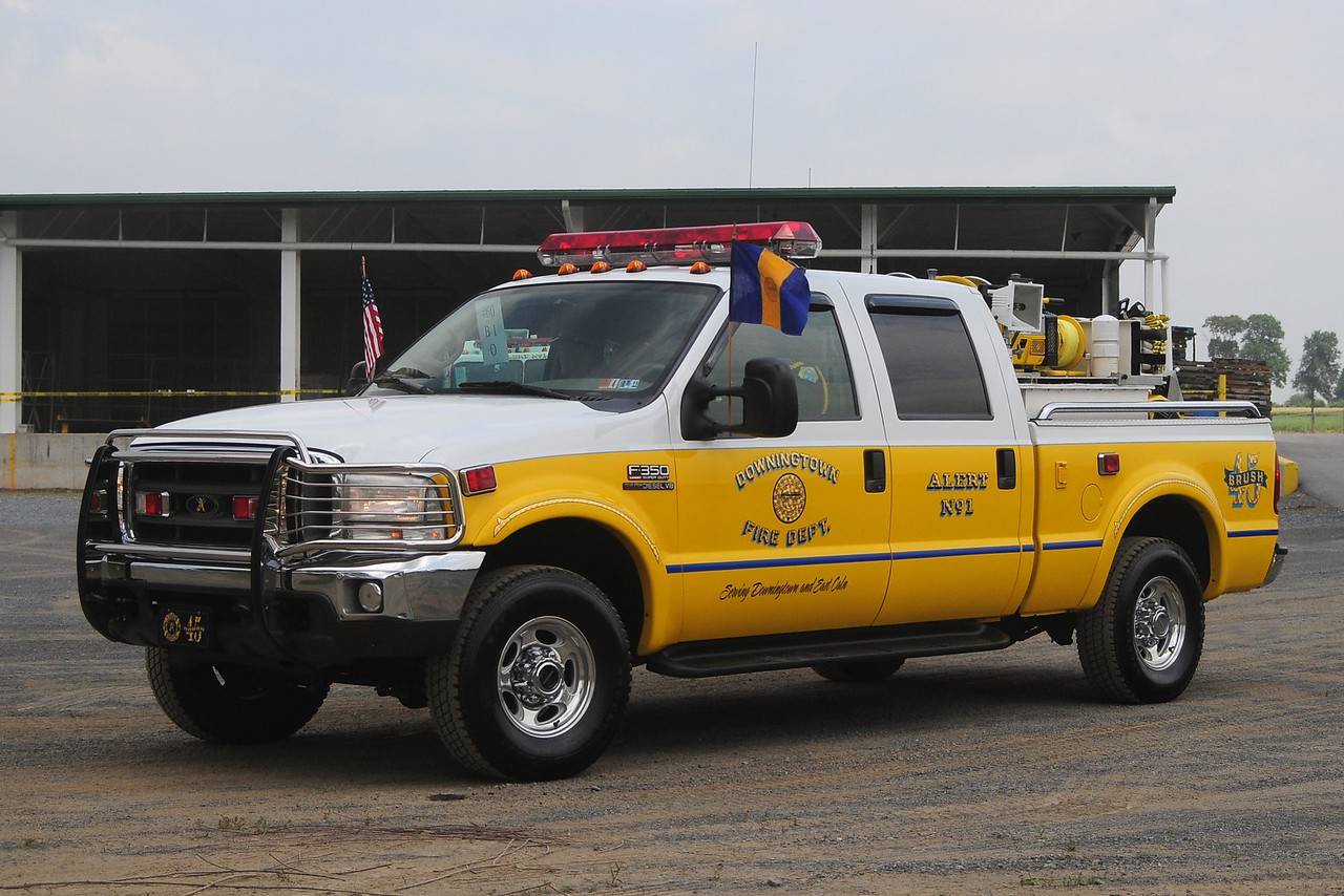 Alert Fire Co 1    Brush 45  2000 Ford  F-350  350/ 170 / 10  of Dowingtown