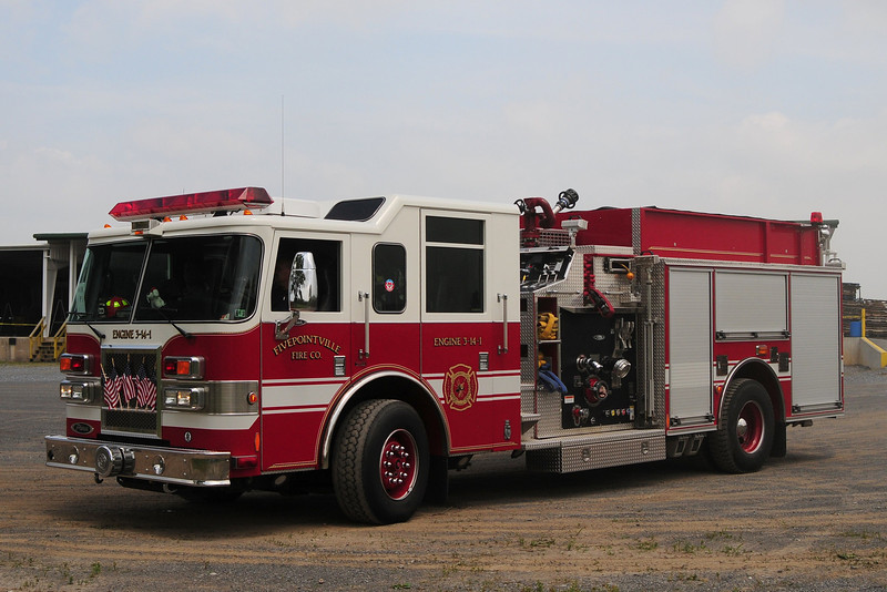 Fivepoint Fire Co     Engine  3-14-1     Pierce  Dash  1500/ 750