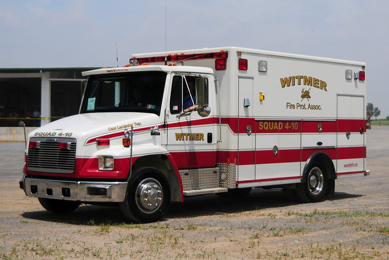 Witmer Fire Co   Squad 4-10  1997 Freighliner  FL50  / E-one Body