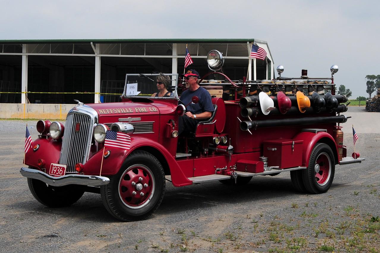 Neffsville  Fire Co   1936  REO / Seagrave  500/ 500