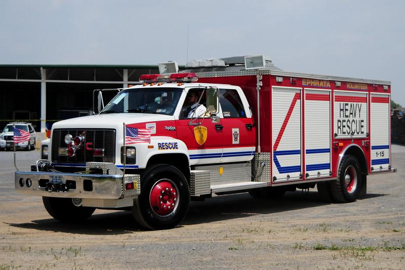 Ephrate Area Rescue   Rescue  1-15  1994  GMC Topkick / Smeal Body