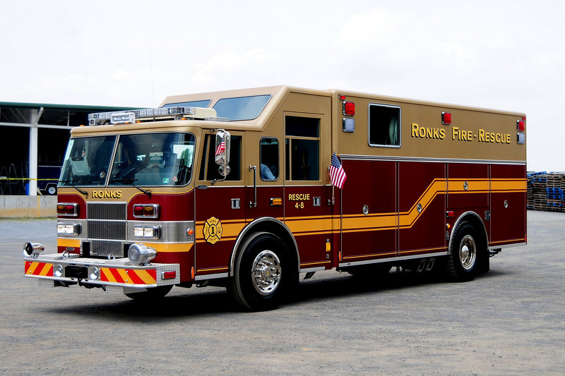 Ronks Fire Co   Rescue 48  1997 Pierce  Saber   Rescue