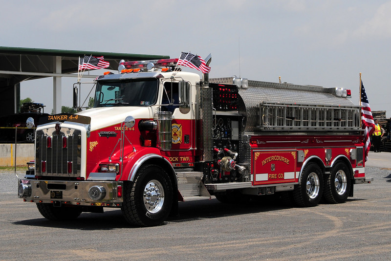 Intercourse Fire Co Tanker 4-4 1997 Kenworth / New Lexington 1750/ 3000