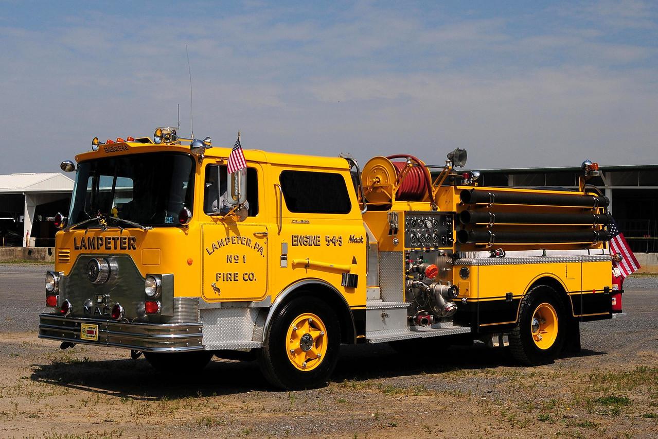 Lampeter Engine 5-4-3 1969 Mack CF 1000/ 500