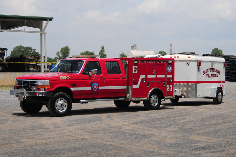 East Petersburg  Fire Co  Squad  23   2005 Ford  F -350