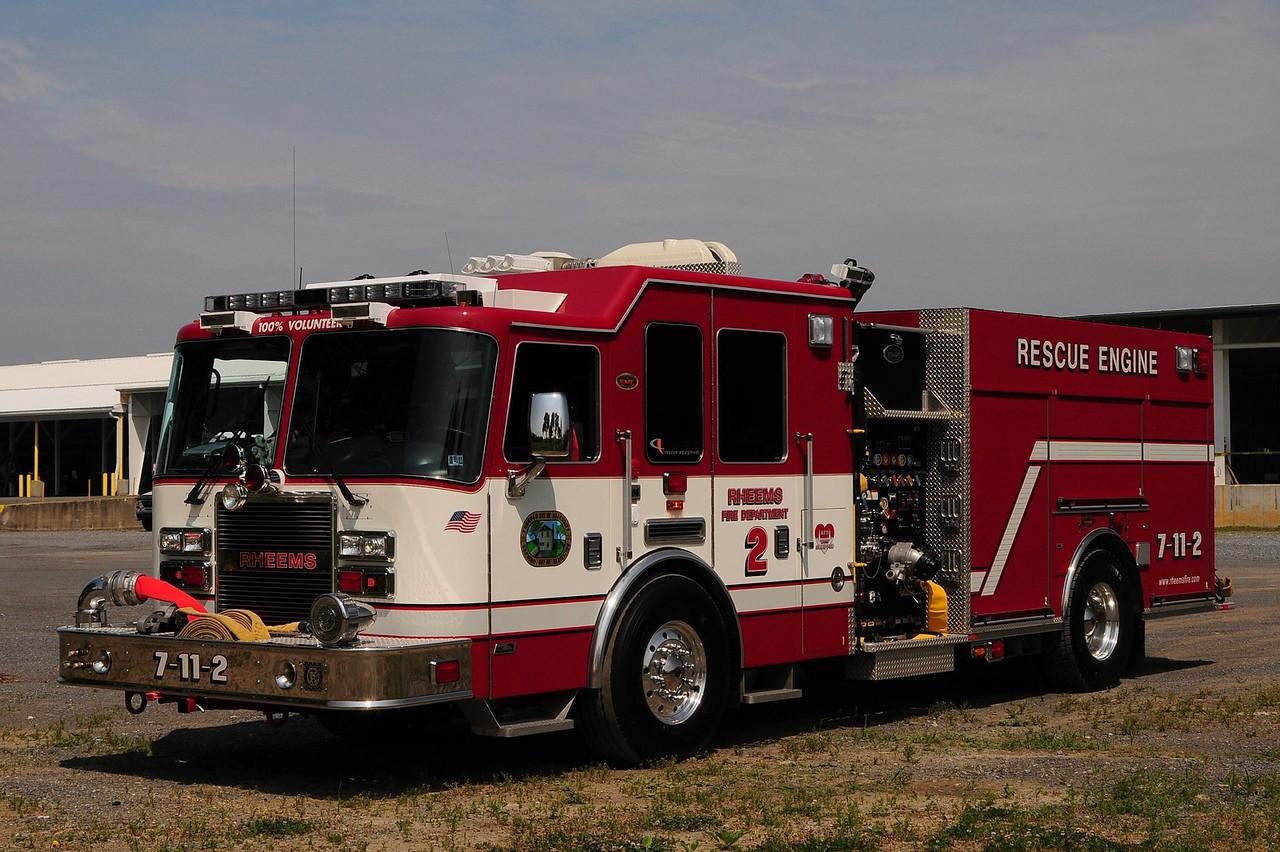 Rheems  Rescue Engine  7-11-2  2009 KME Predator  1500/ 750/ 20 Holmatro Rescue tools