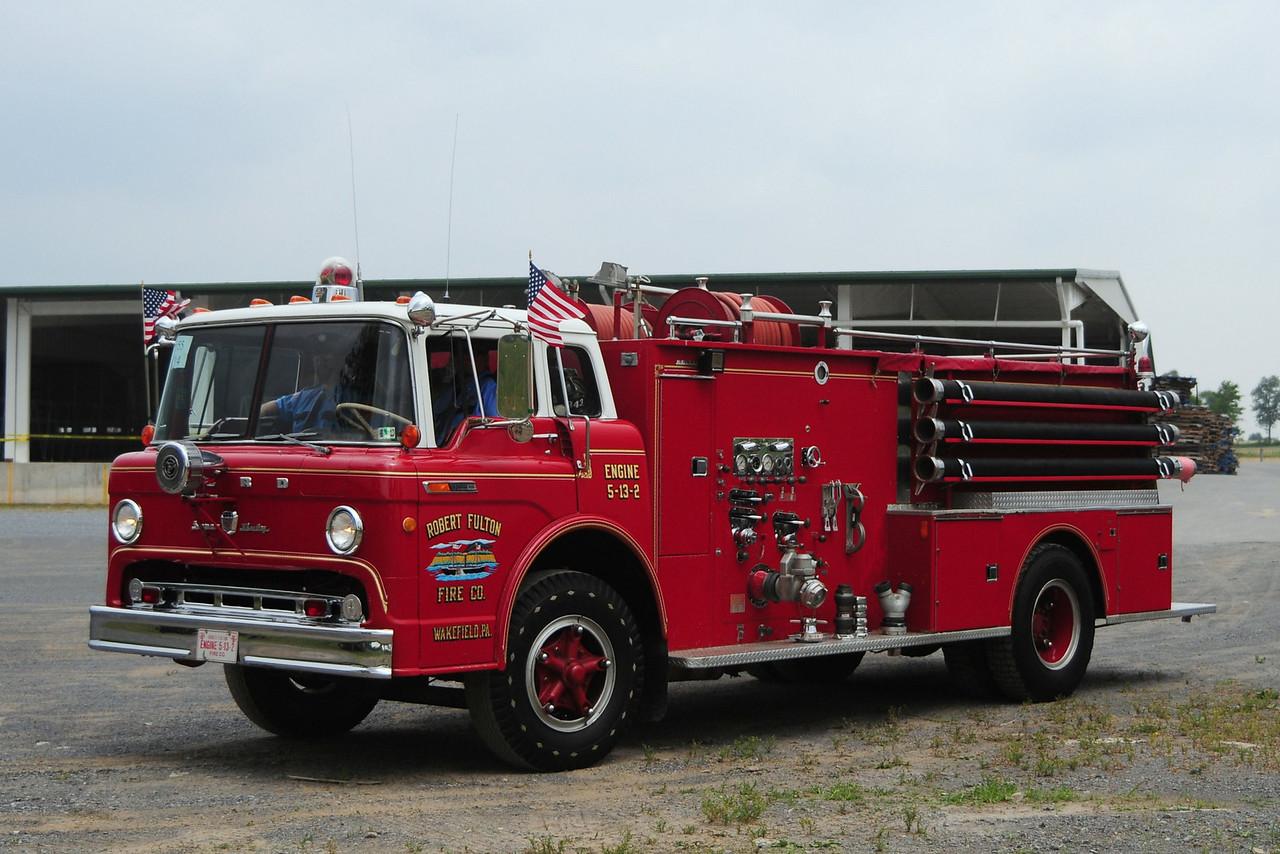 Robert Fulton Fire Co    Engine 5-13-2   1969 Ford C-950/ Boyer  750/ 1250