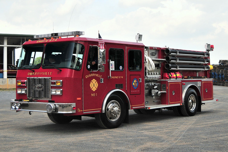 Quarryville Fire Co   Engine  5-7-4  1994  E-One  Century  1250/ 1000